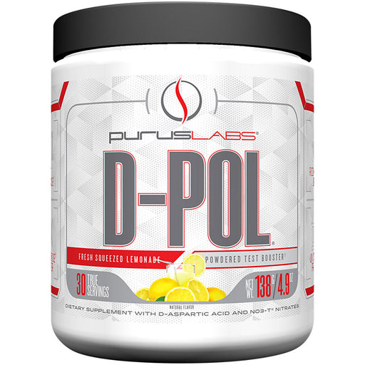 Purus Labs D-POL Powder | 30 Servings - Fresh Squeezed Lemonade