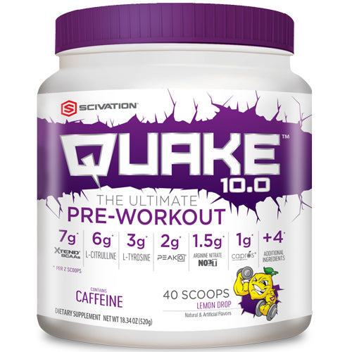 Quake 10.0 Pre-Workout 40 Scoops - Watermelon Bubblegum
