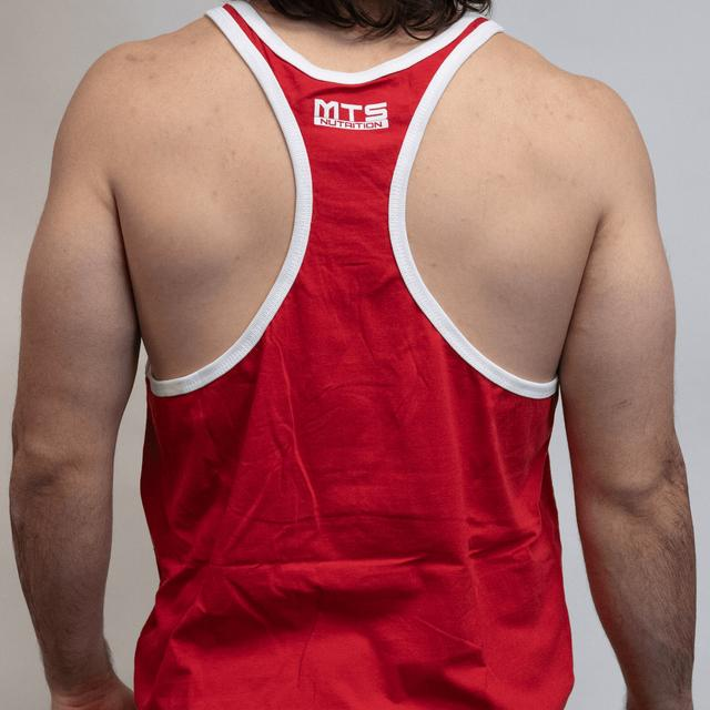 MTS Contrast Stringer (Red/White)