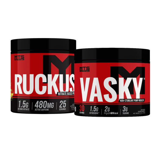 MTS Ruckus and Vasky Stack