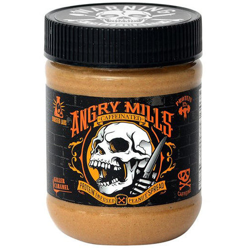 Sinister Labs Caffeinated Protein Peanut Butter 12oz - White Chocolate