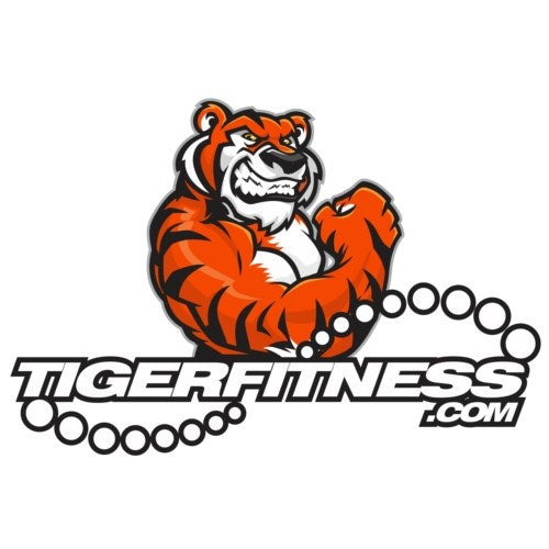 Flexing Tiger Sticker Decal