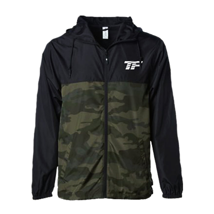 TF Camo Windbreaker Jacket - Large