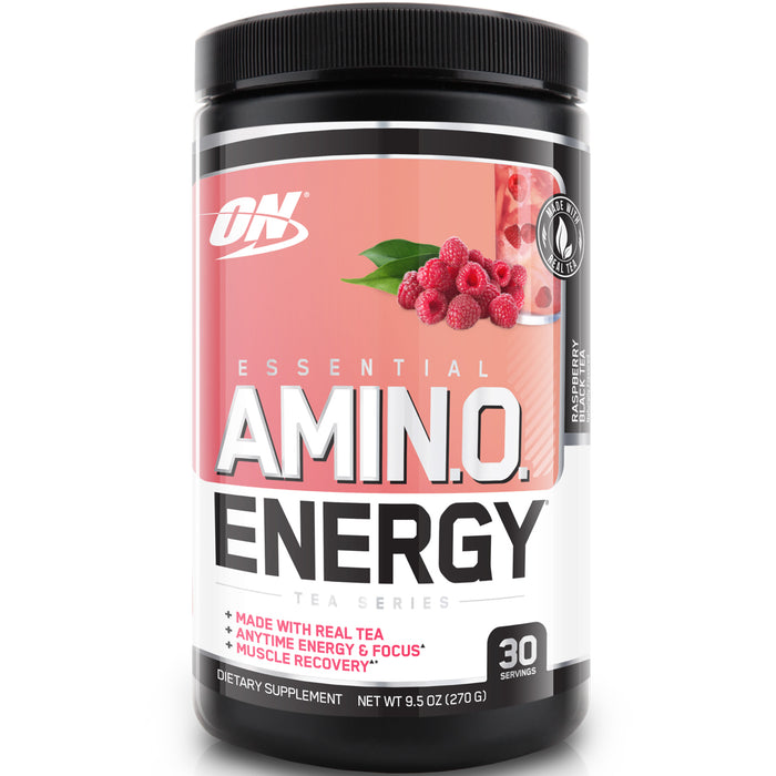 ON Essential Amino Energy 30 Serving - Raspberry Black Tea
