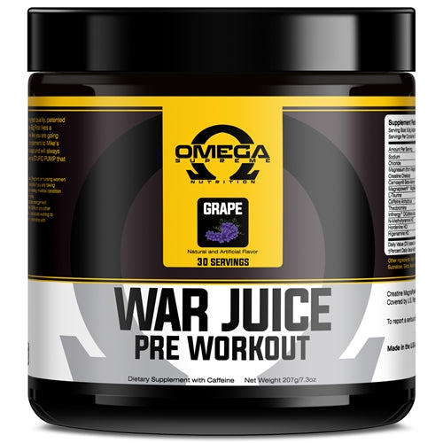 Omega Supreme War Juice 30 serv - Grape