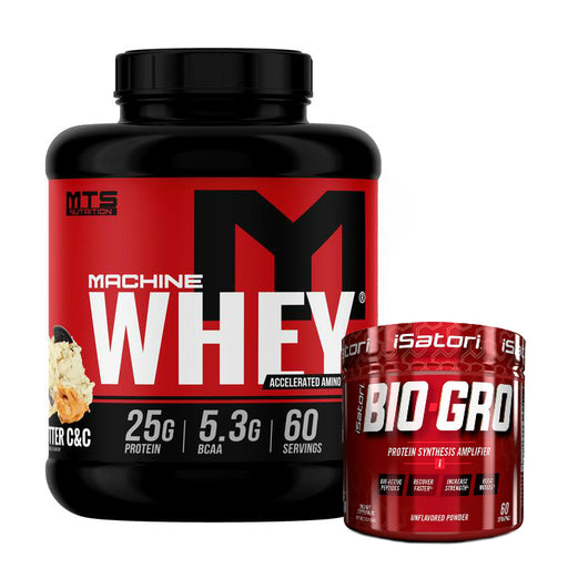 Machine Whey and iSatori Bio Gro