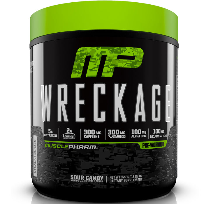 MusclePharm Wreckage | 25 Servings - Sour Candy