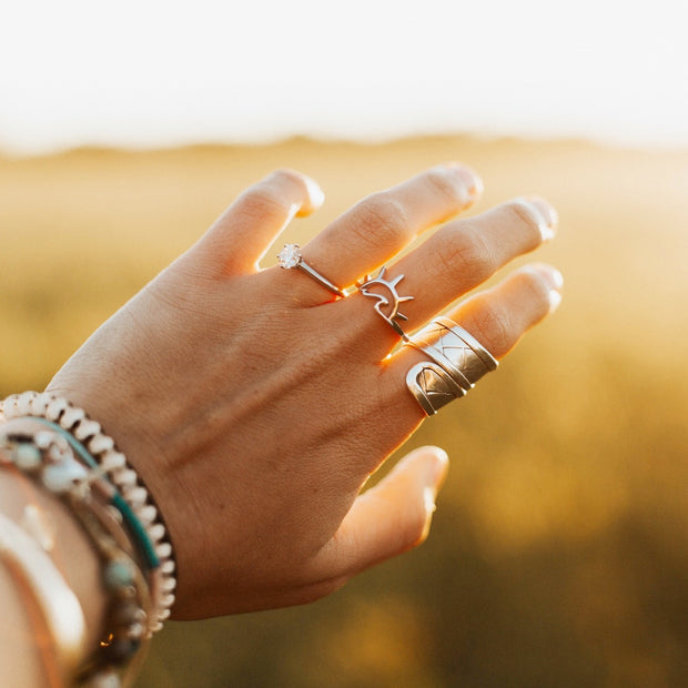 Sea Candy Ring: Sunset Sterling Silver