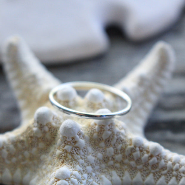 Sea Candy Ring: Simple Sterling Silver
