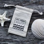 Limited Edition Burlap Sea Candy Jewelry Gift Bag