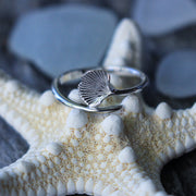 Sea Candy Ring: Mermaid Tail Sterling Silver