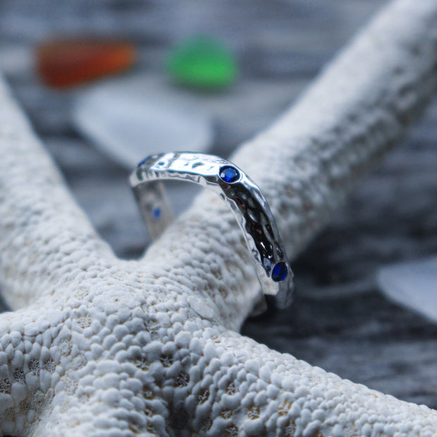 Sea Candy Ring: Open Sea Sterling Silver