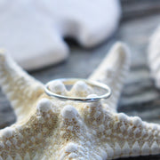 Sea Candy Ring: Dainty Simple Sterling Silver