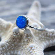 Sea Candy Ring: Ocean Opal Sterling Silver