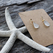 Limited Edition Simple Sea Candy Earrings: White