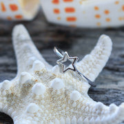 Sea Candy Ring: Coastal Star Sterling Silver
