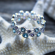 Sea Candy Ring: Ocean Bubbles Sterling Silver