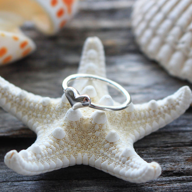 Sea Candy Ring: Coastal Love Sterling Silver