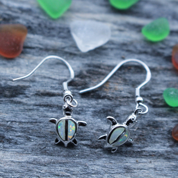 Sea Candy Earrings: Gem Sea Turtles