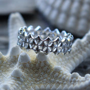 Sea Candy Ring: Eternity Diamonds Sterling Silver