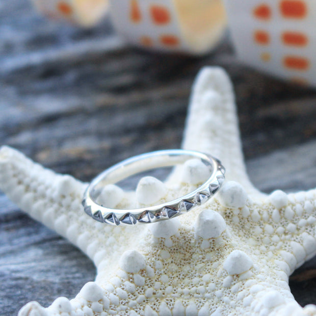 Sea Candy Ring: Bohemian Studs Sterling Silver