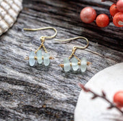 Limited Edition Sea Candy Earrings: Seafoam