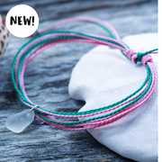 "Sea Candy Bracelet: ""Watermelon Love"""