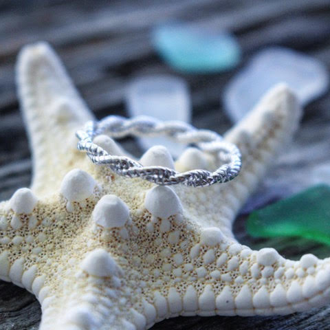 Sea Candy Ring: Infinity Sterling Silver