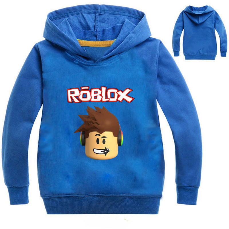 ROBLOX Hoodie for Boys Girls Adult Unisex Long Sleeve Hooded Pullover Casual