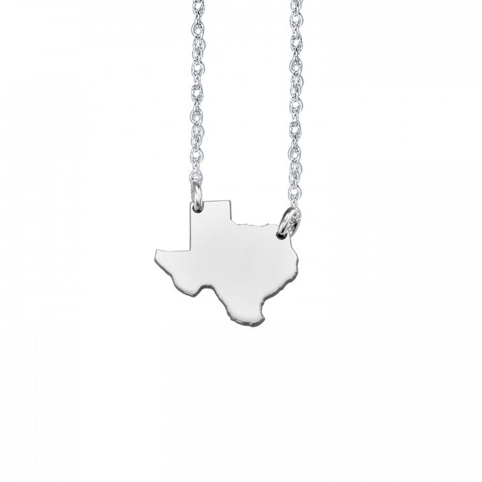 Home Sweet Home State Necklace (13 mm) - Wanderlust 195