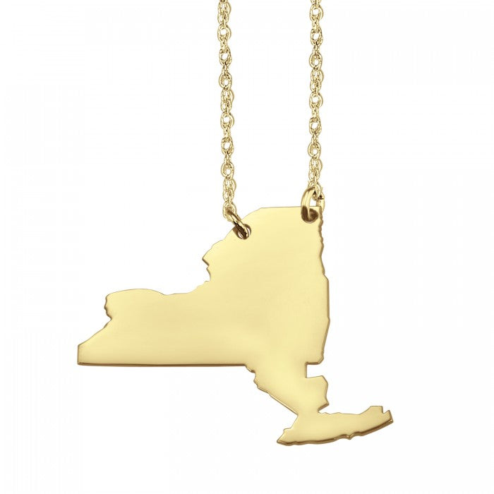 Home Sweet Home State Necklace (26 mm) - Wanderlust 195