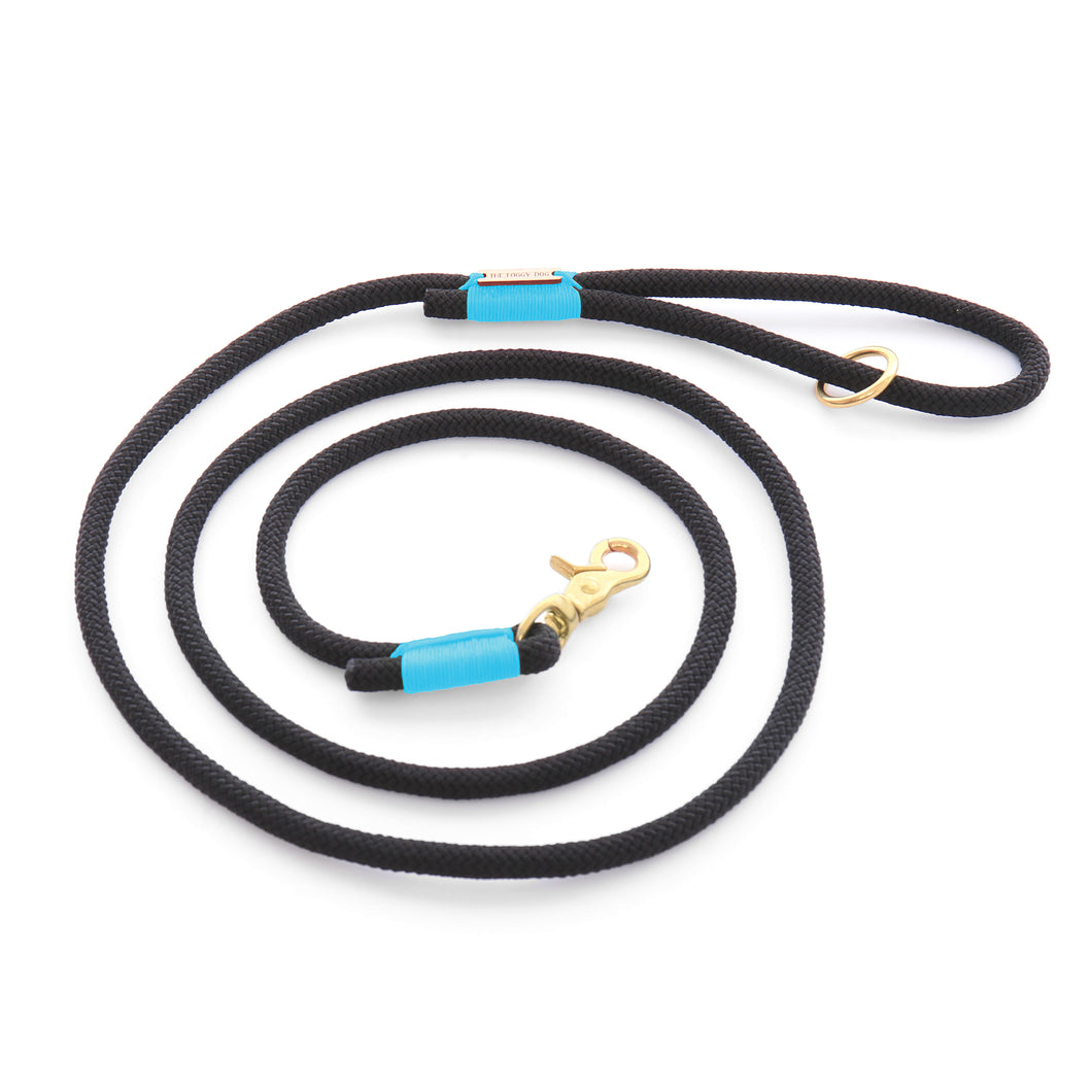 The foggy dog nylon rope leash