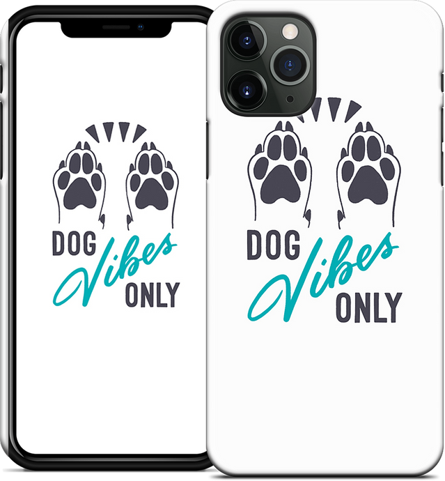 Dog Vibes Only iPhone Case