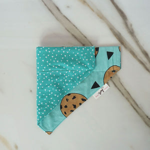 Mint Chocolate Chunk Cookie Dog Bandana