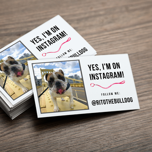 Instagram Calling Card