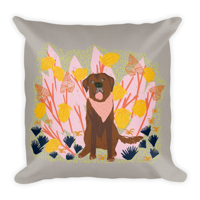Tropics Labrador Pillow