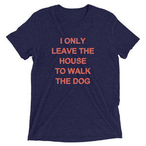 social distancing stay at home order dog walk