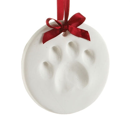 Dog Paw Print Ornament Kit