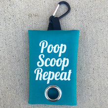 Poop Scoop Repeat Leash Bag