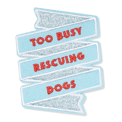 Rescuing Dogs Patch