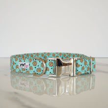Mint Chocolate Chunk Cookie Dog Collar