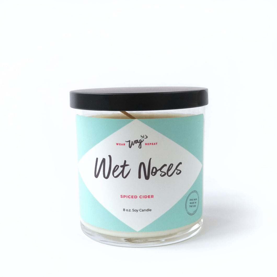Wet Noses Candle for Dog Lovers Pet Candle