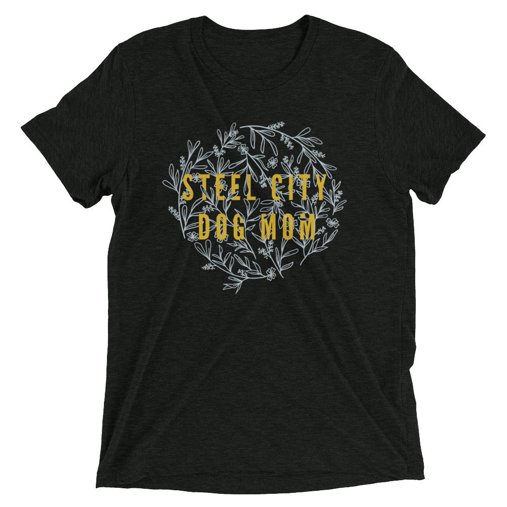 Steel City Dog Mom Pittsburgh Shirt