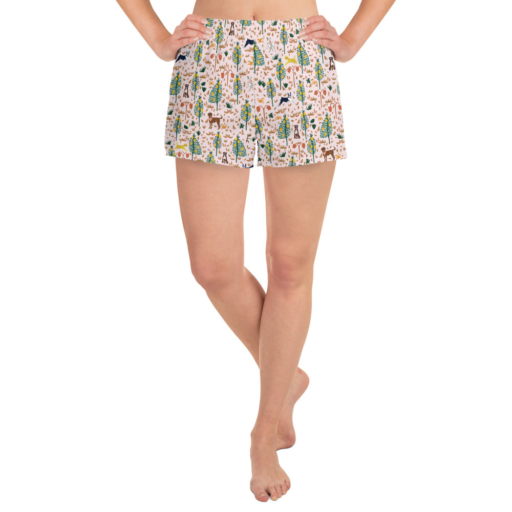 It's a Jungle Out There Shorts - Pink