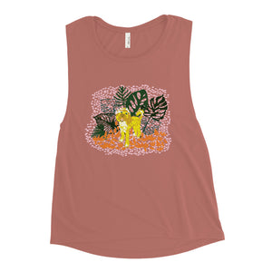 Monstera Doodle Tank - 2 Colors