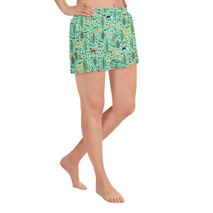 It's a Jungle Out There Shorts - Mint