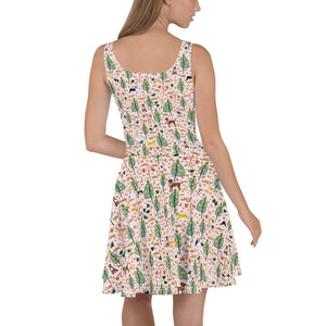 Pink Jungle Dogs Dress