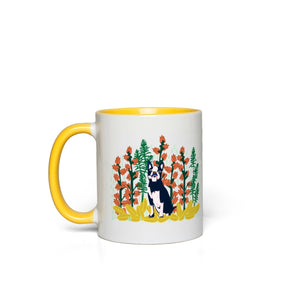 Boston Terrier Jungle Dog Mug - 2 Colors