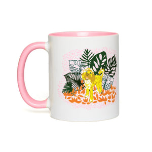 Monstera Doodle Mug - 2 Colors