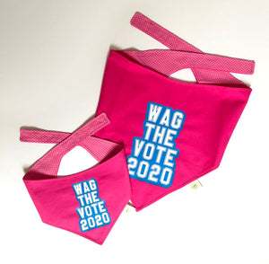 Wag The Vote Bandana *Special Edition PINK*